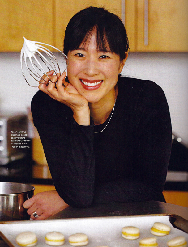 Boston Chef Joanne Chang in Fine Cooking